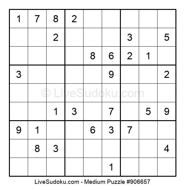 Medium Puzzle #906657