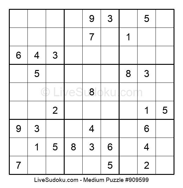 Medium Puzzle #909599