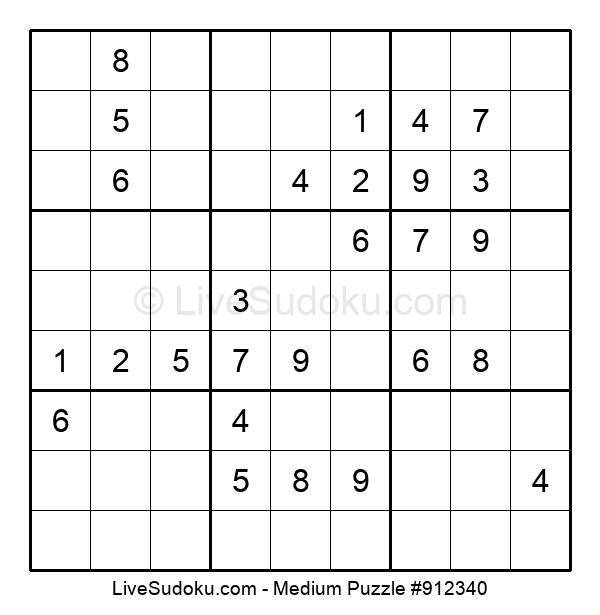 Medium Puzzle #912340