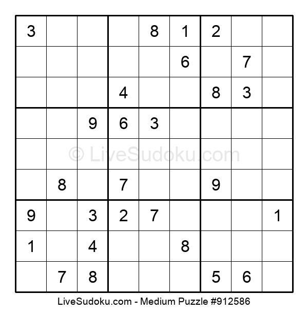 Medium Puzzle #912586