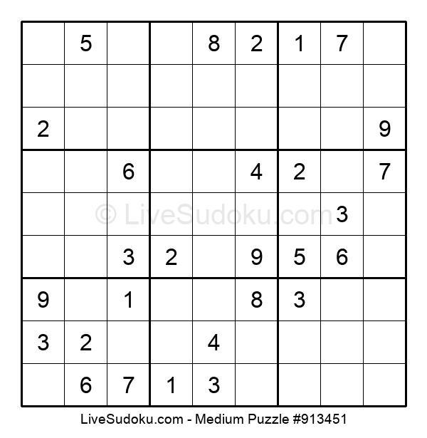 Medium Puzzle #913451