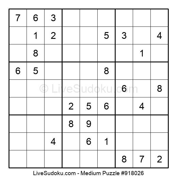 Medium Puzzle #918026