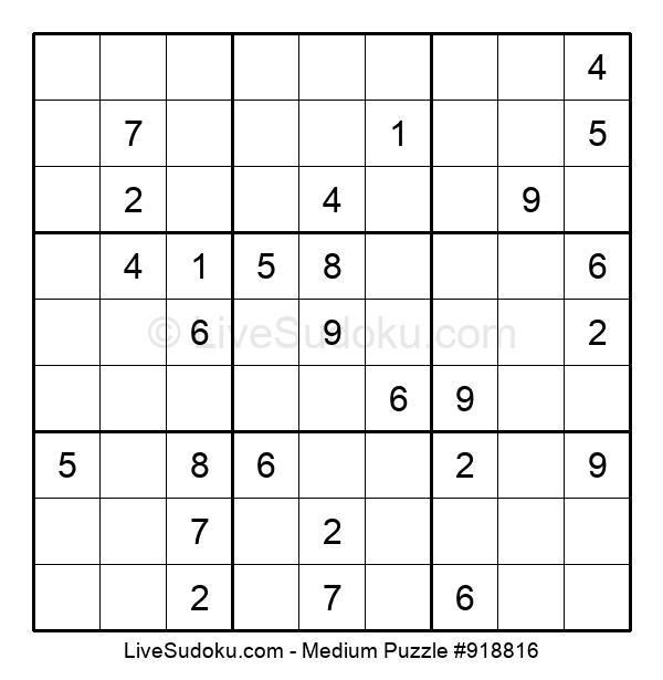 Medium Puzzle #918816