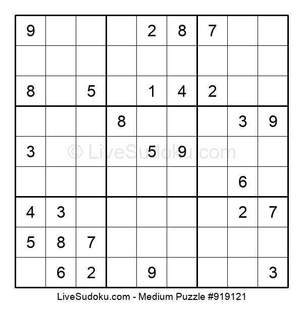 Medium Puzzle #919121