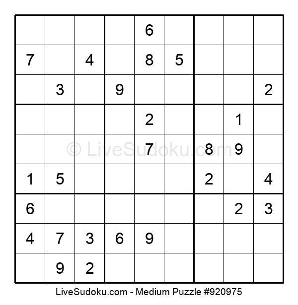 Medium Puzzle #920975