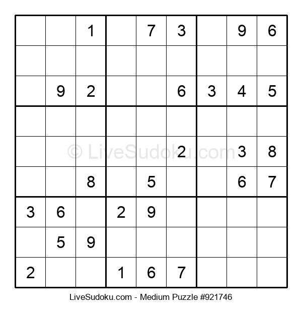 Medium Puzzle #921746