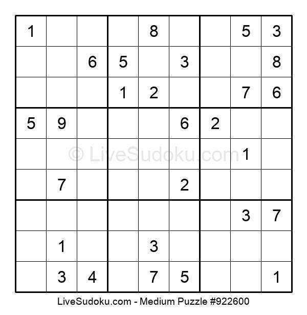 Medium Puzzle #922600