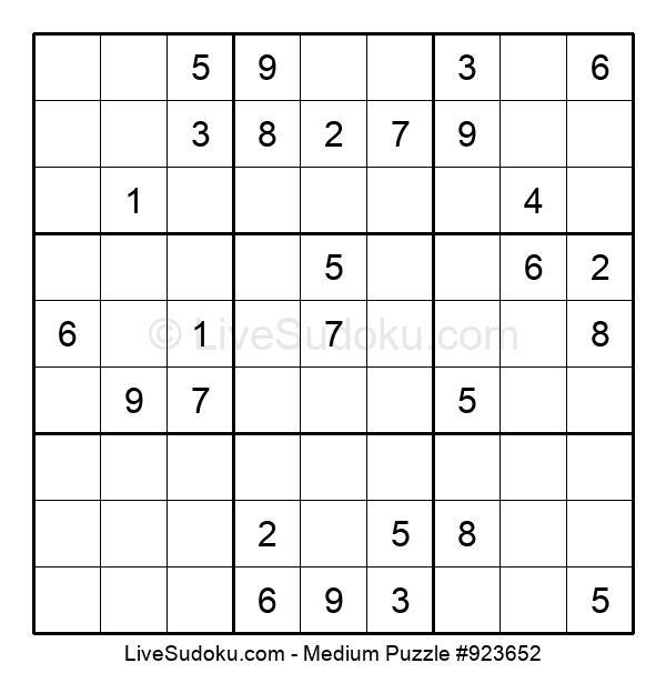 Medium Puzzle #923652