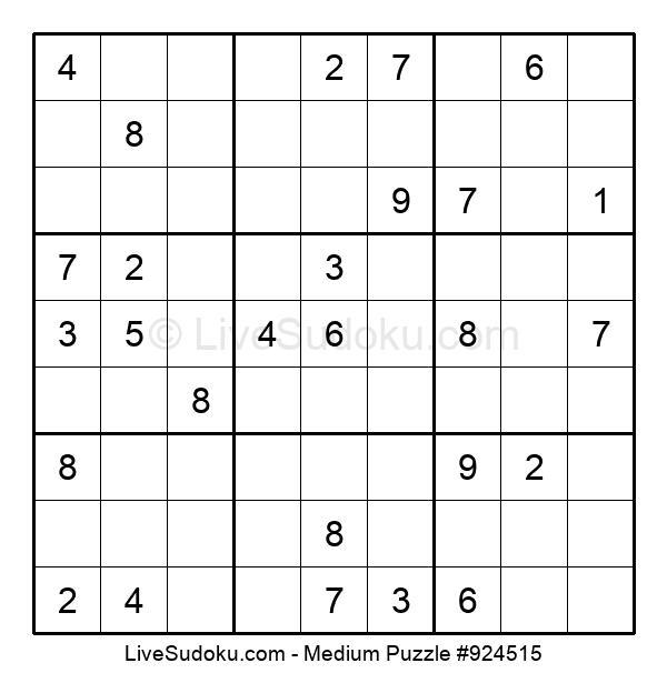 Medium Puzzle #924515