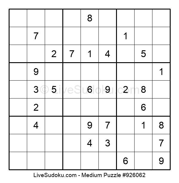 Medium Puzzle #926062
