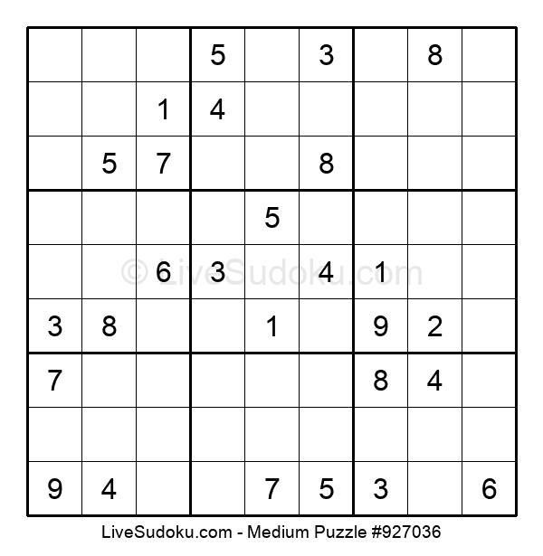 Medium Puzzle #927036