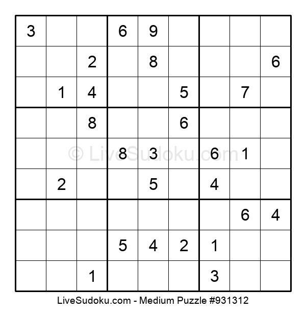 Medium Puzzle #931312
