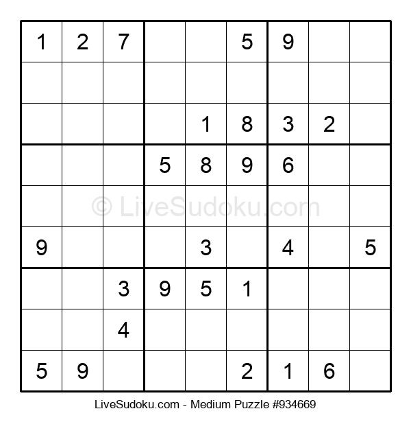 Medium Puzzle #934669