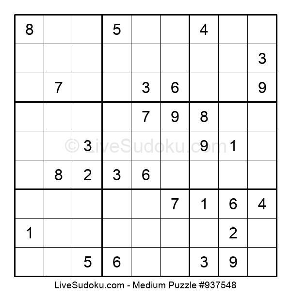 Medium Puzzle #937548