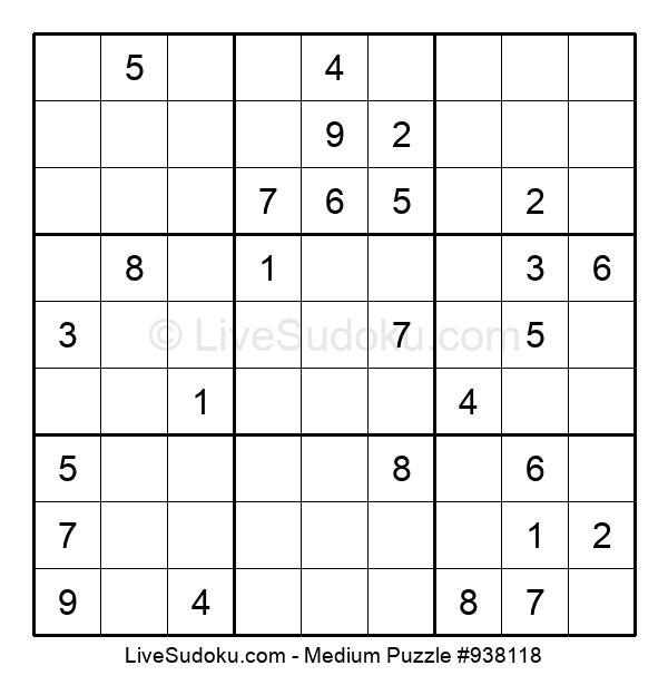 Medium Puzzle #938118