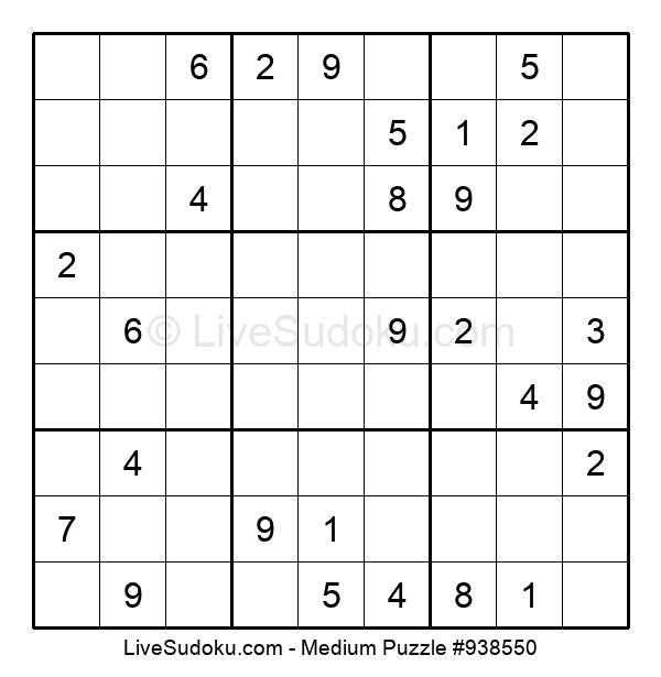 Medium Puzzle #938550