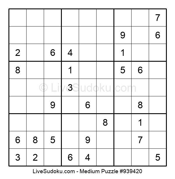 Medium Puzzle #939420