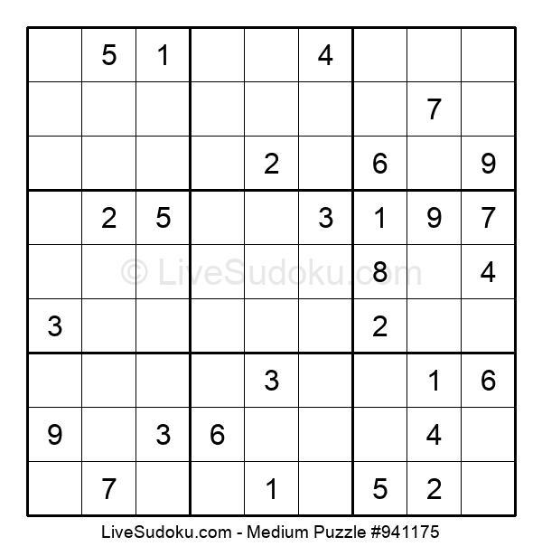 Medium Puzzle #941175