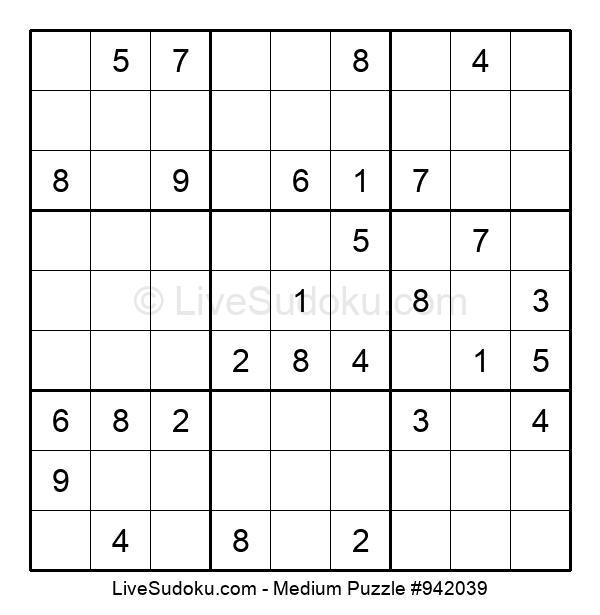 Medium Puzzle #942039