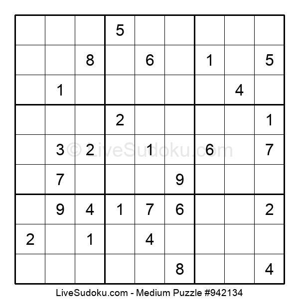 Medium Puzzle #942134