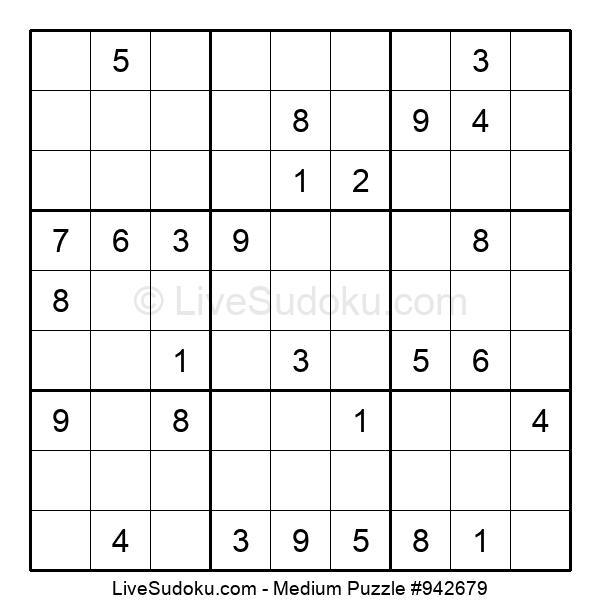 Medium Puzzle #942679