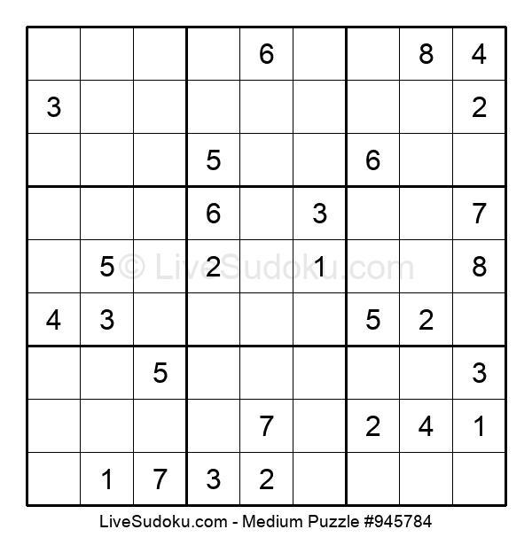 Medium Puzzle #945784