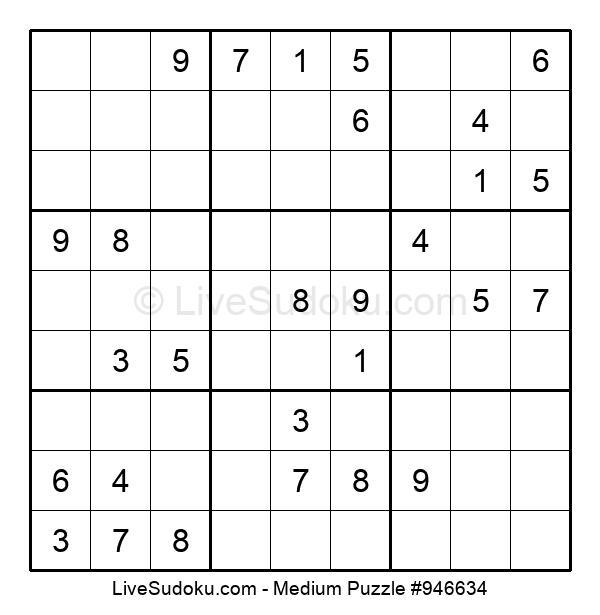 Medium Puzzle #946634