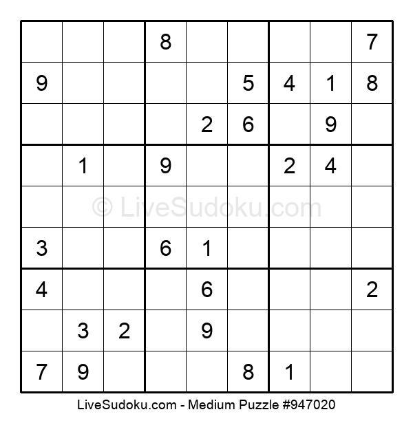 Medium Puzzle #947020