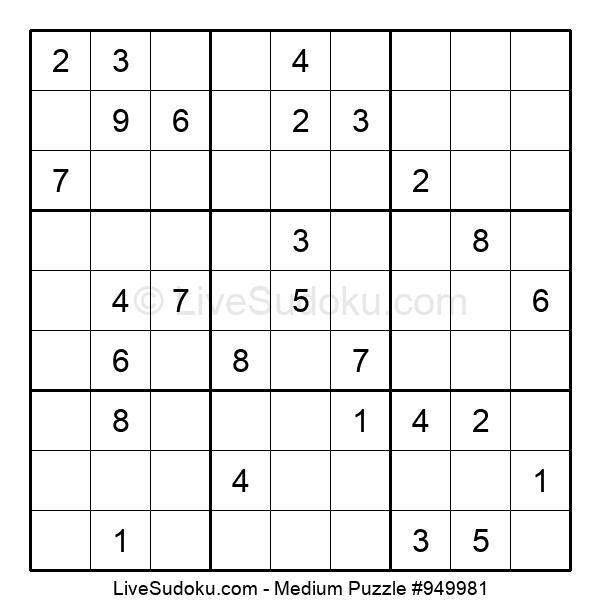Medium Puzzle #949981