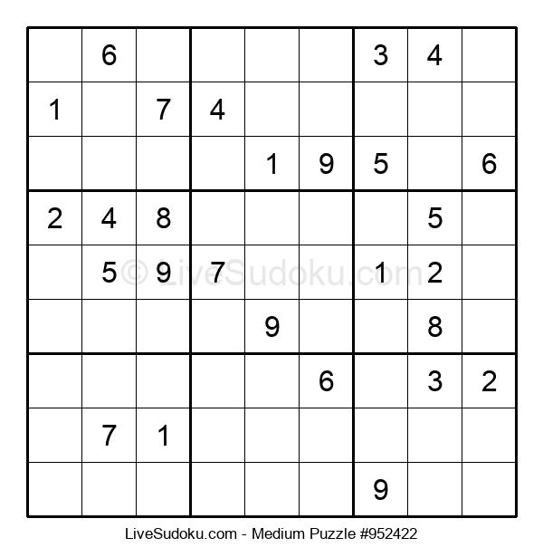 Medium Puzzle #952422