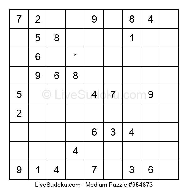 Medium Puzzle #954873