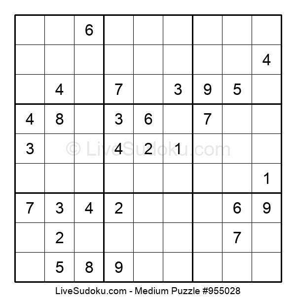 Medium Puzzle #955028