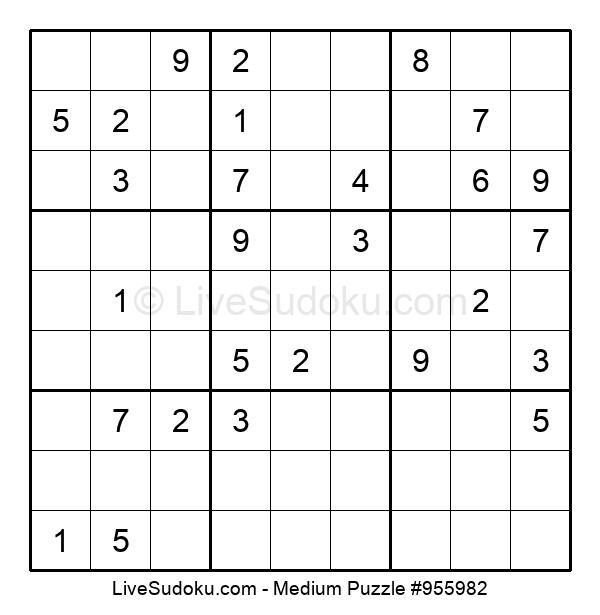 Medium Puzzle #955982