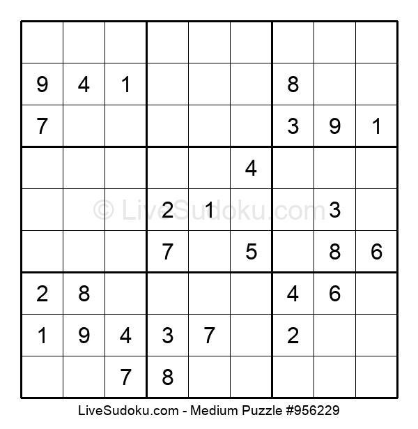 Medium Puzzle #956229