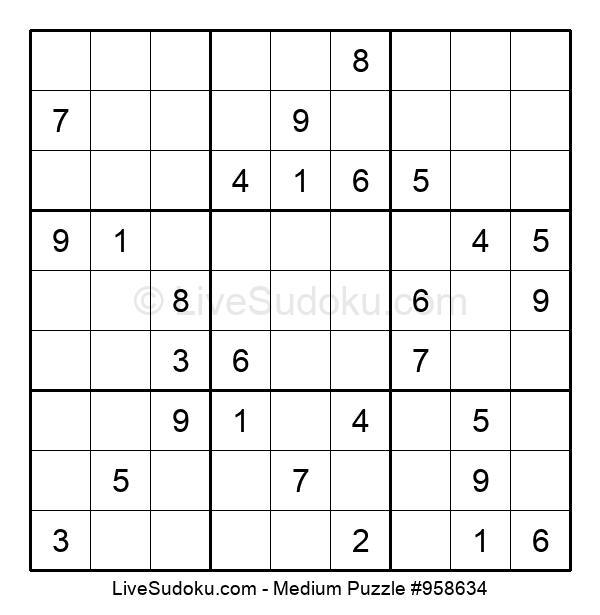 Medium Puzzle #958634