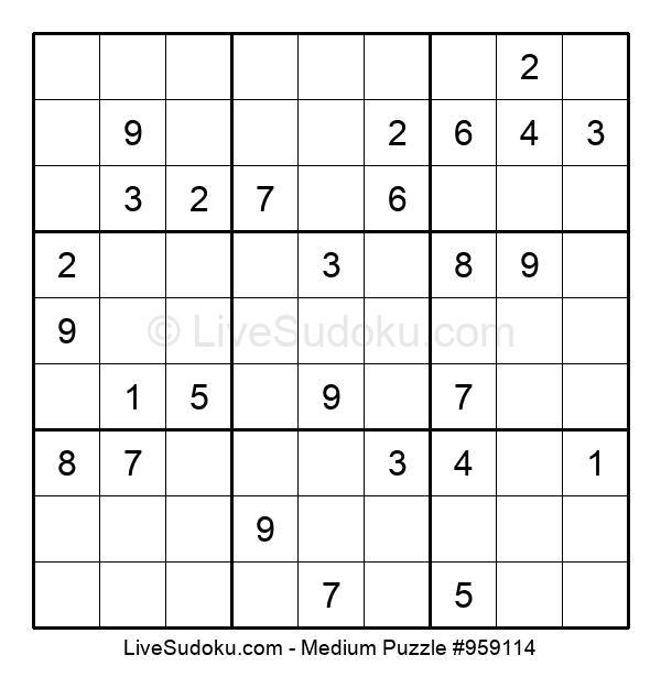 Medium Puzzle #959114