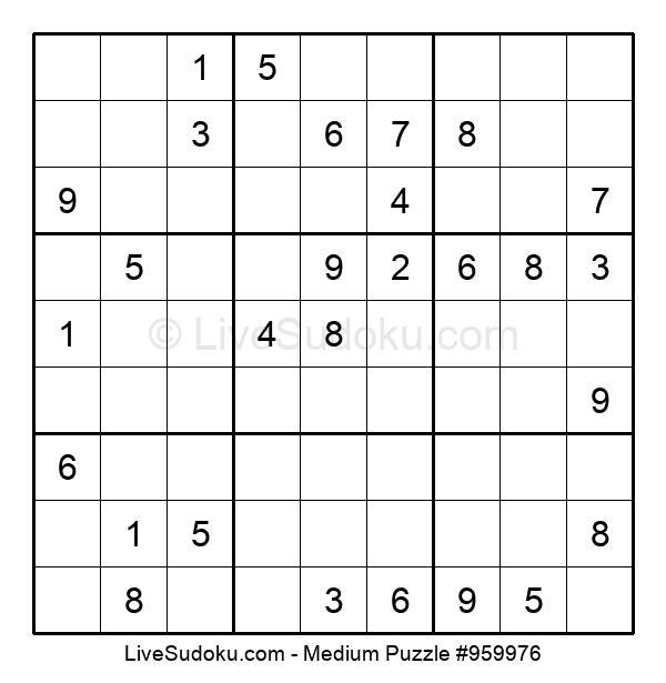 Medium Puzzle #959976