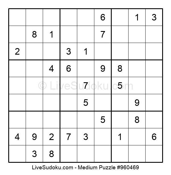 Medium Puzzle #960469