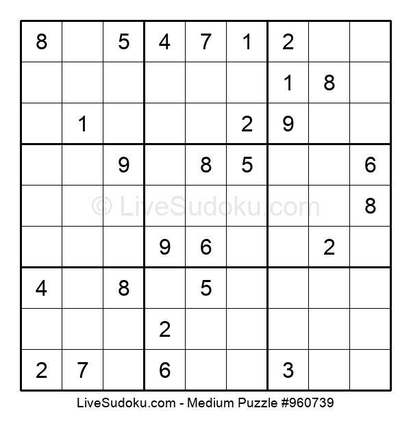Medium Puzzle #960739