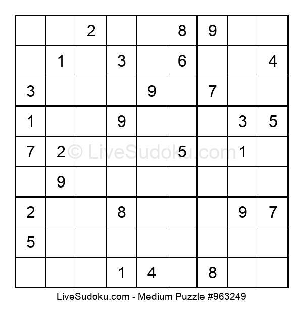 Medium Puzzle #963249