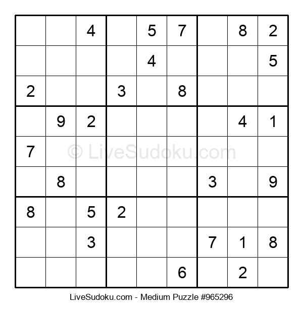 Medium Puzzle #965296