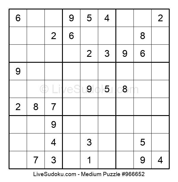 Medium Puzzle #966652