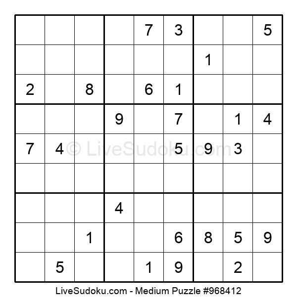 Medium Puzzle #968412