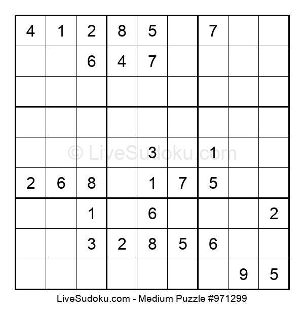Medium Puzzle #971299