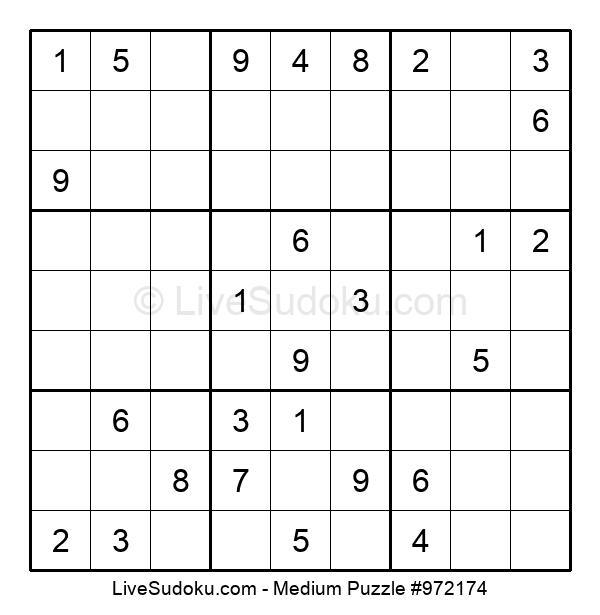 Medium Puzzle #972174