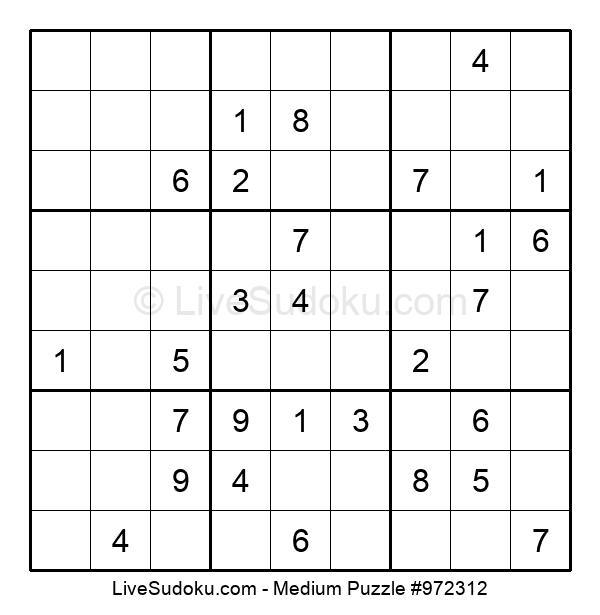 Medium Puzzle #972312