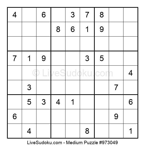 Medium Puzzle #973049