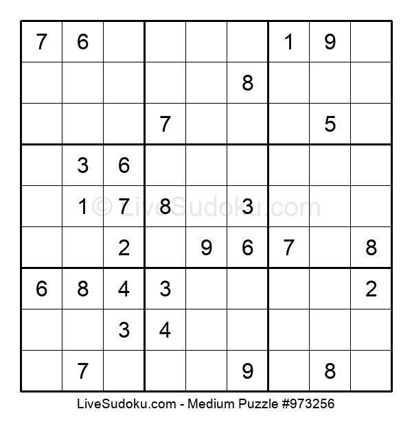 Medium Puzzle #973256