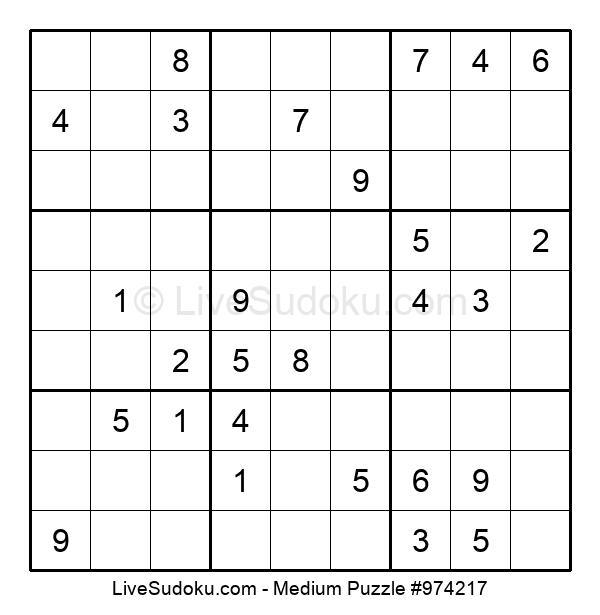 Medium Puzzle #974217
