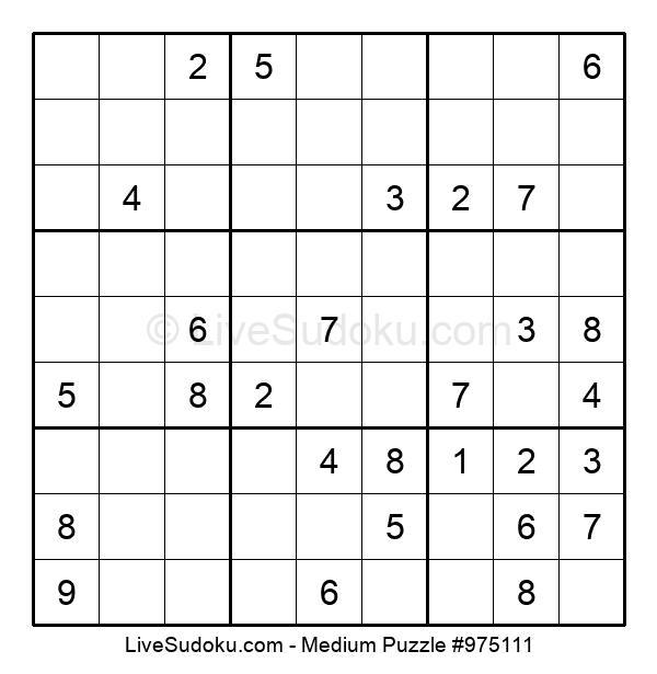 Medium Puzzle #975111